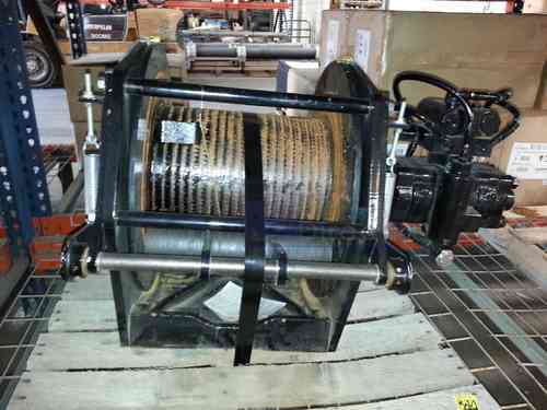 Winch Planetary Hoist Braden PD15B 15K lb. 2 Speeds Like New!