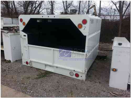 Chip Dump Box 7 ft with Hydraulic Lift (SOLD)
