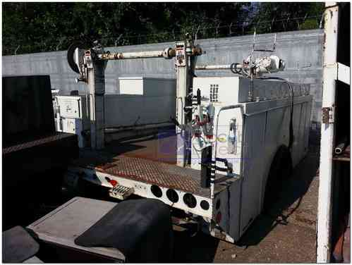 Utility Service Body with Hydraulic Reeler (Used)