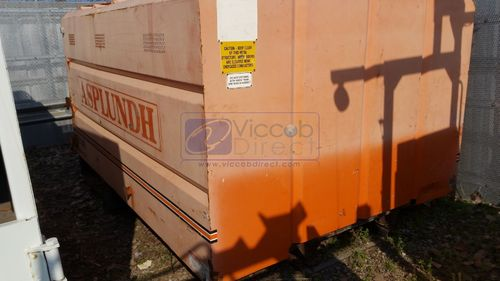 Chip Dump Box 11 ft with Hydraulic Lift (Used)