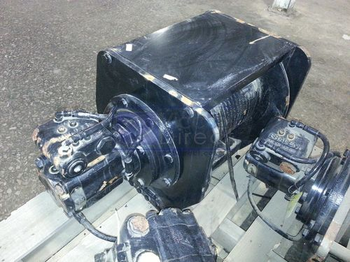 Winch Planetary Hoist Braden PD12C 12K lb. 2 Speeds Like New!
