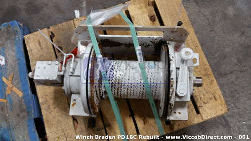 Winch Braden PD18C 20K lb. (Remanufactured) - Like New