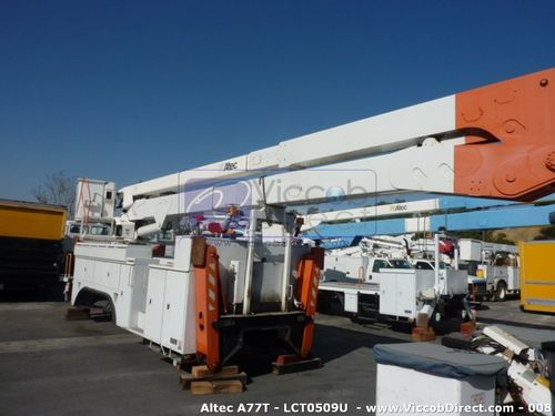 Lift Boom Altec A Series 81 ft (Used) | High Reach