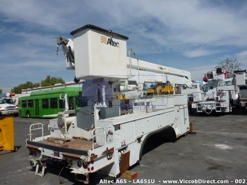 Lift Boom Altec A Series 70 ft (Used) | High Reach