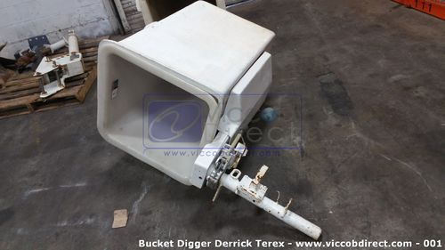 Bucket Digger Derrick Terex with Pin Brake Mount (Used)