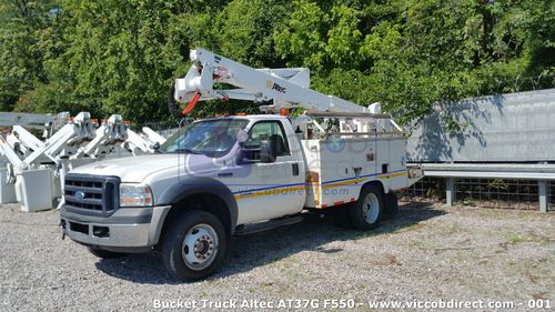 Bucket Truck Ford F550 with Lift Altec AT37G - 42.5 ft