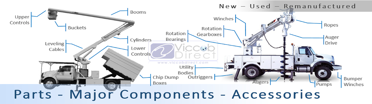 Parts - Truck Mounted Equipment - ViccobDirect com